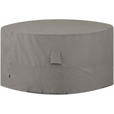 Madison Outdoor Furniture Cover Round 200cm Grey - Grey