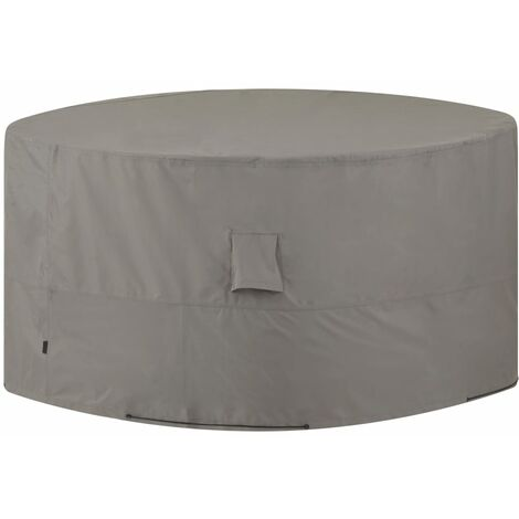 Madison Outdoor Furniture Cover Round 320cm Grey - Grey