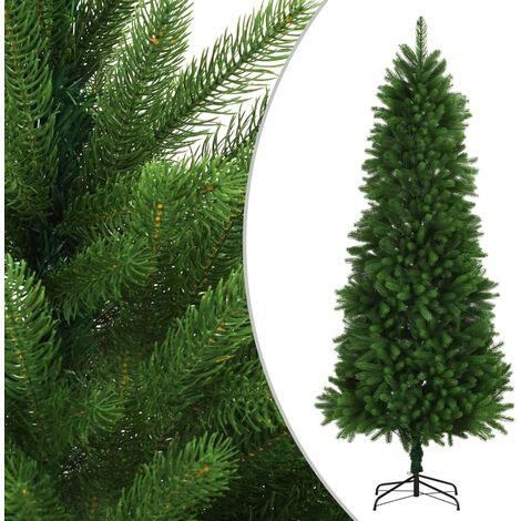 vidaXL Artificial Christmas Tree Lifelike Needles Green 240 cm - Green