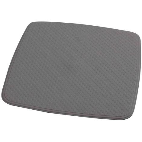 RIDDER Non-slip Shower Mat Capri Cement Grey 54x54 cm - Grey