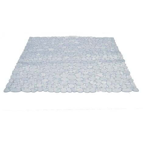 RIDDER Non-slip Shower Mat Stone 54x54 cm - Transparent