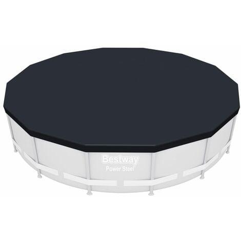 Bestway Pool Cover Flowclear 427 cm - Grey