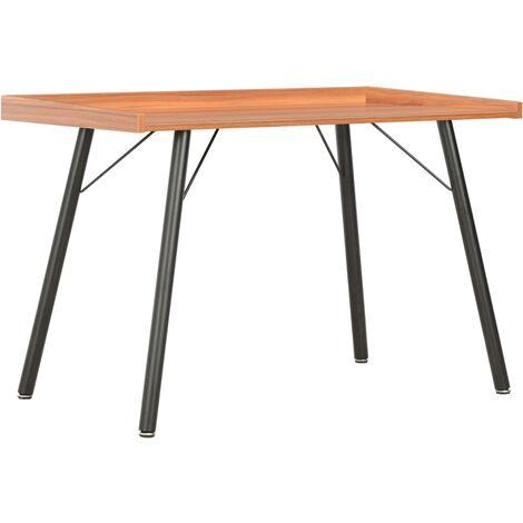 vidaXL Desk Brown 90x50x79 cm - Brown