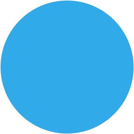 vidaXL Pool Cover Blue 356 cm PE - Blue