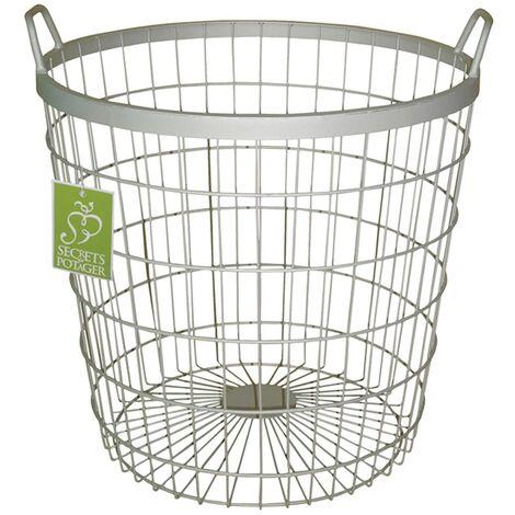 Esschert Design Potato Gathering Basket W2022 - Silver
