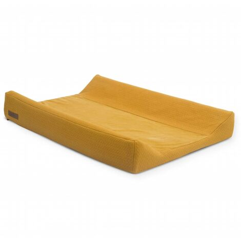 Jollein Changing Mat Cover Brick 50x70 cm Velvet Mustard - Yellow