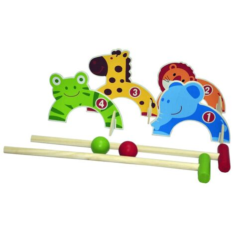 OUTDOOR PLAY Croquet Set 0713005