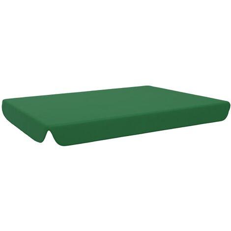 vidaXL Replacement Canopy for Garden Swing Green 192x147 cm - Green