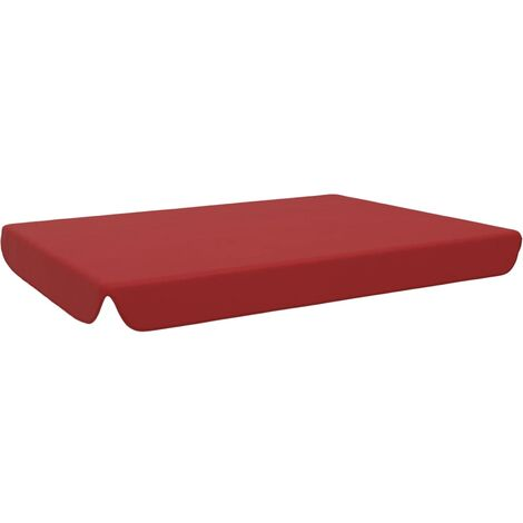 vidaXL Replacement Canopy for Garden Swing Bordeaux Red 192x147 cm - Red