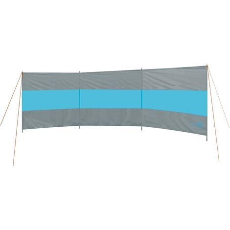 Bo-Camp Windbreak Brendan 500x140 cm Grey and Blue - Grey