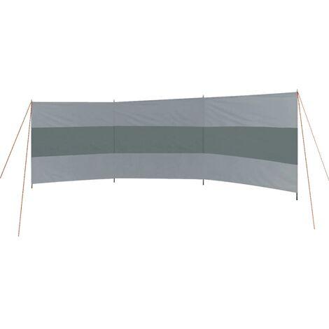Bo-Camp Windbreak Popular 500x140 cm Grey and Anthracite - Grey