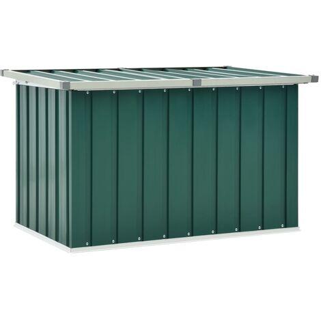 vidaXL Garden Storage Box Green 109x67x65 cm - Green