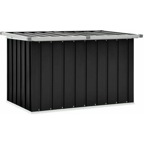 vidaXL Garden Storage Box Anthracite 109x67x65 cm - Anthracite