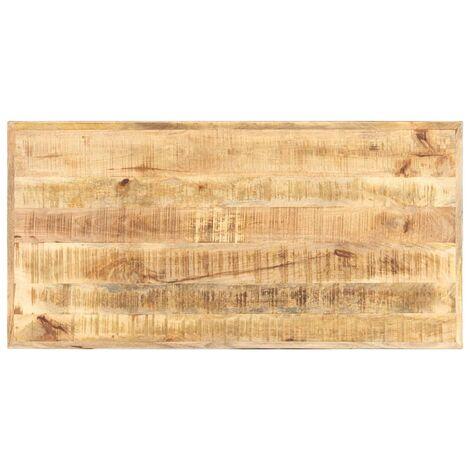 vidaXL Table Top Solid Mango Wood 16 mm 120x60 cm - Brown