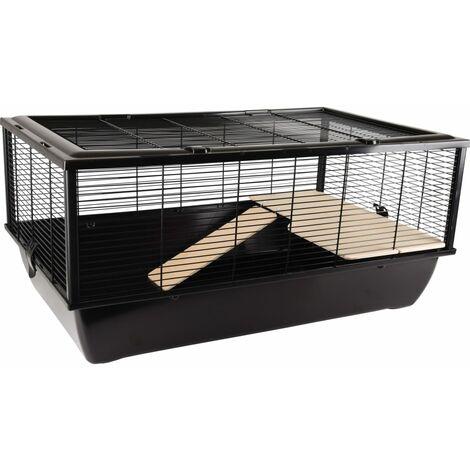 FLAMINGO Small Animal Cage Elsa Small 77x47x36.5cm - Black