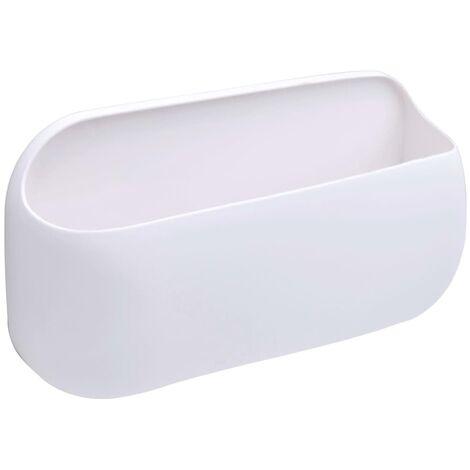 RIDDER Adhesive Storage Box White - White