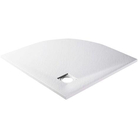 vidaXL Shower Tray SMC White 90x90 cm - White