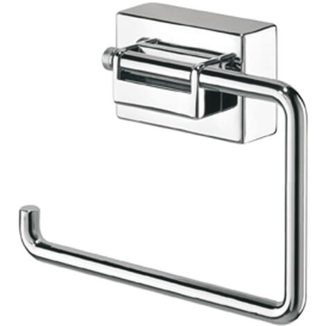 Tiger Toilet Roll Holder Figueras Chrome 319010341 - Silver