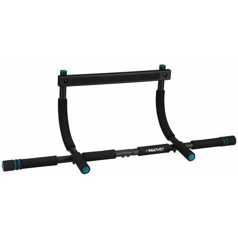 Avento Fitness Doorway Trainer Steel - Black
