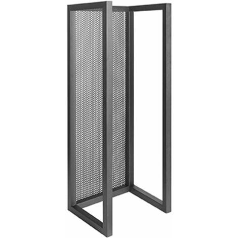 LABEL51 Firewood Rack 30x25x80 cm L - Black