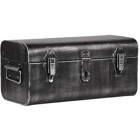 LABEL51 Storage Trunk 38x21x18 cm M - Black