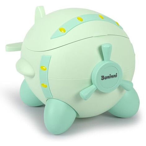 Baninni Baby Potty Plane Green - Green