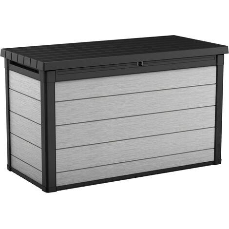 Keter Garden Storage Box Denali 757L Anthracite - Grey