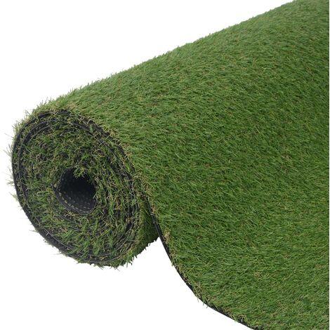vidaXL Artificial Grass 1x15 m/20 mm Green - Green