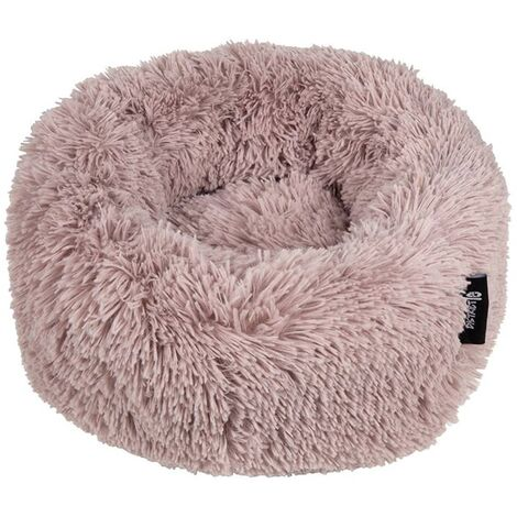 DISTRICT70 Pet Bed FUZZ Sand S - Pink