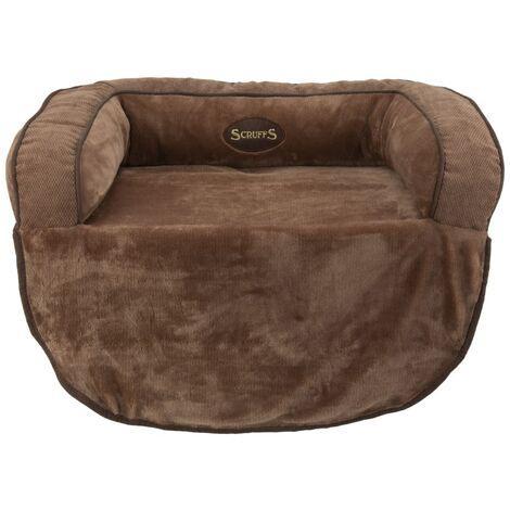 Scruffs Pet Sofa Bed Chester Choco M - Brown