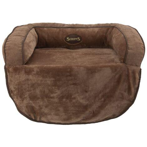 Scruffs Pet Sofa Bed Chester Choco L - Brown