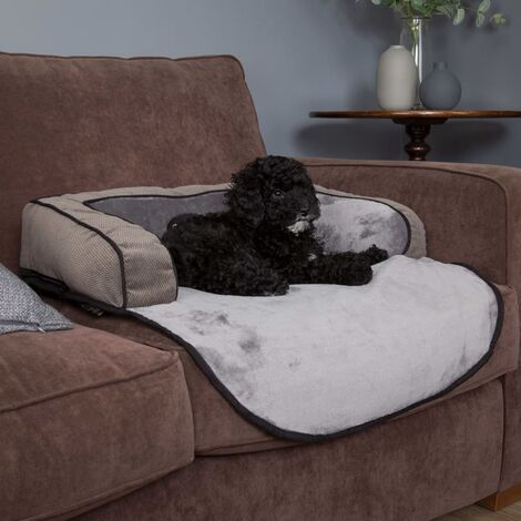 Scruffs Pet Sofa Bed Chester Graphite M - Grey