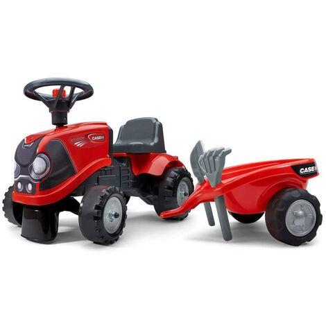 FALK Toy Tractor Set Case IH Babyfarmer 1/3 - Red