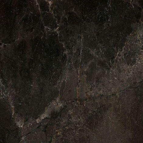 Grosfillex Wallcovering Tile Gx Wall+ 11pcs Marble 30x60 cm Black - Black