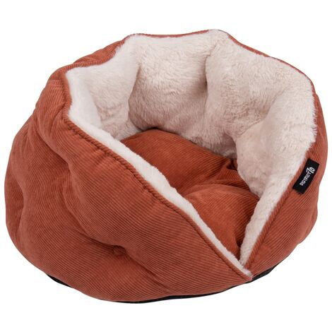 DISTRICT70 Cat Bed TUCK Terracotta - Red