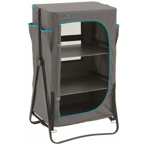 Easy Camp Foldable Camp Cupboard Halton Grey - Grey