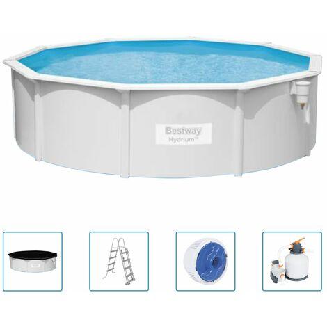 Bestway Hydrium Swimming Pool Set 460x120 cm - White
