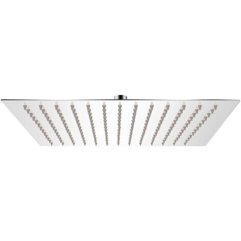 vidaXL Rain Shower Head Stainless Steel 30x30 cm Square - Silver