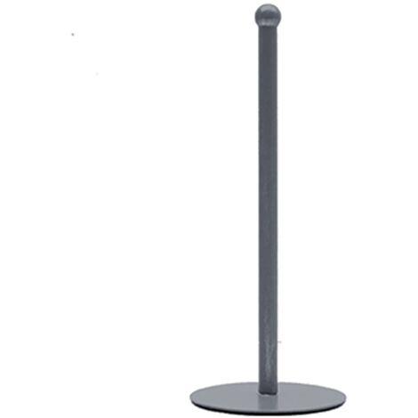 LABEL51 Kitchen Roll Holder 13x13x33 cm Antique Grey - Grey