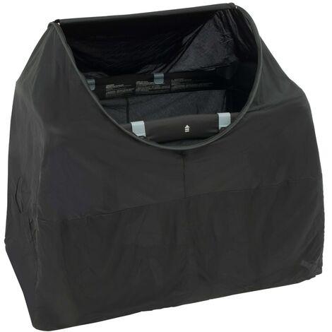DERYAN Camping Bed Protector Night Cover Black