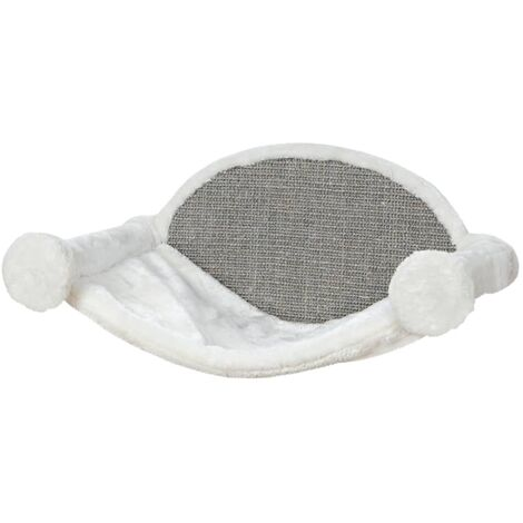 TRIXIE Cat Hammock 54x28x33 cm Cream and Grey 49920 - Cream