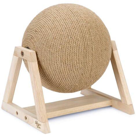 Designed by Lotte Cat Scratch Globe on Foot Xem 34x30x35.5 cm
