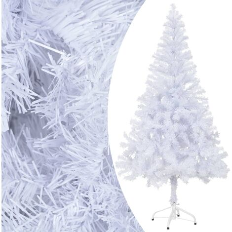 vidaXL Artificial Christmas Tree with Stand 120 cm 230 Branches - White
