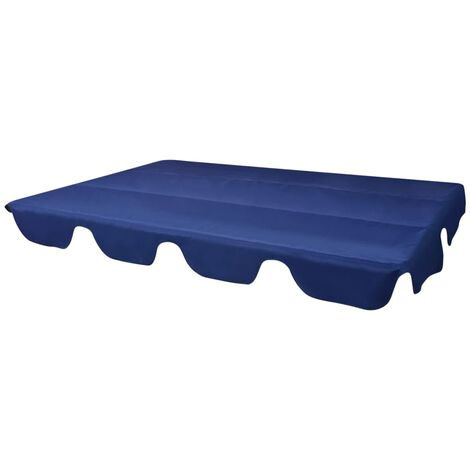 vidaXL Replacement Canopy for Garden Swing Blue 226x186 cm - Blue
