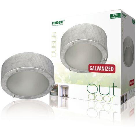Ranex Ceiling/Wall Light 60 W Silver 5000.314 - Silver