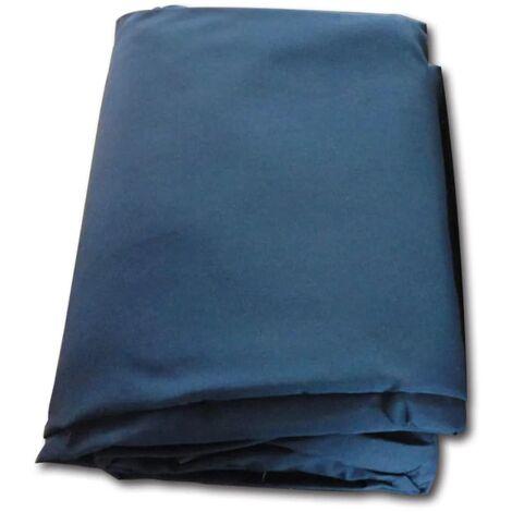 vidaXL Replacement Gazebo Cover Top Canvas Blue - Blue