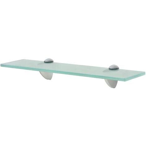 vidaXL Floating Shelf Glass 8 mm 40x20 cm - Transparent