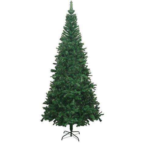 vidaXL Artificial Christmas Tree L 240 cm Green - Green