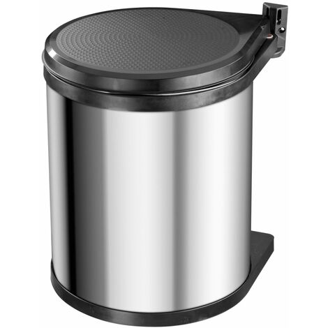 Hailo Cupboard Bin Compact-Box Size M 15 L Stainless Steel 3555-101 - Silver