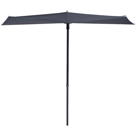 Madison Balcony Parasol Sun Wave 270x150 cm Grey PAC3P014 - Grey